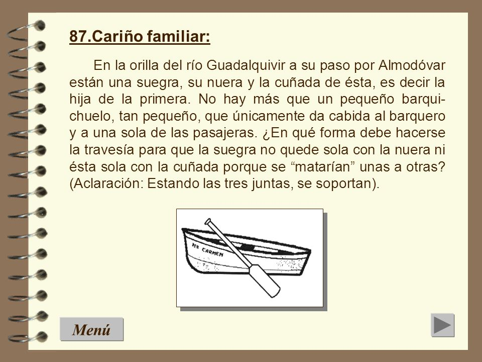 87.Cariño familiar: