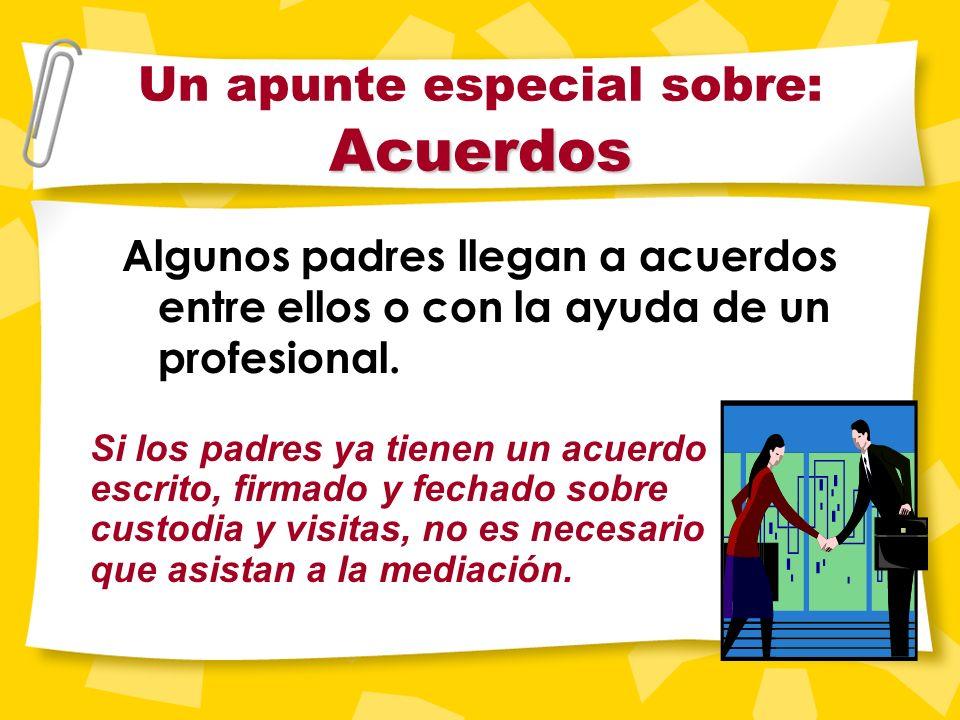 Esta presentación Esta presentación está pensada para ayudarle a entender el proceso de mediación.