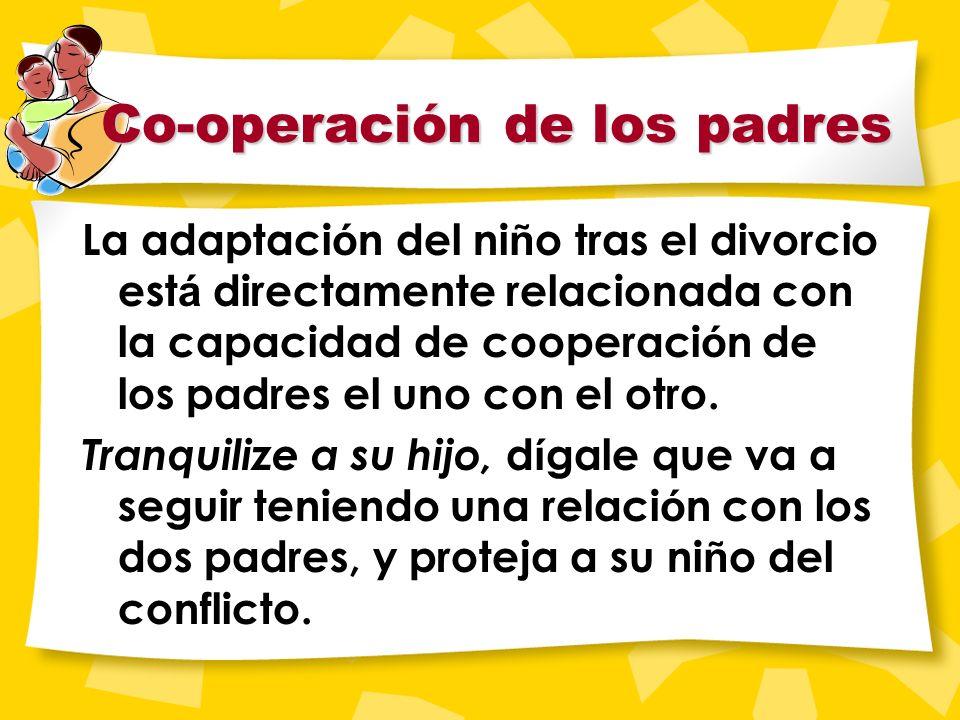 Niños y Divorcio Los niños sufren ansiedad e inseguridad durante una separación.