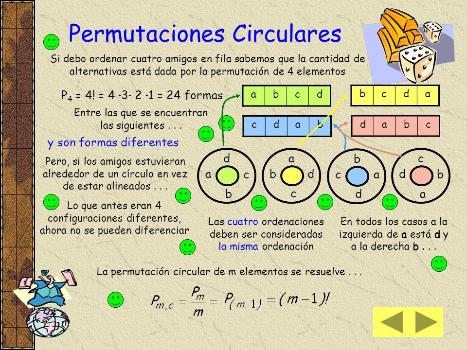 Permutaciones Circulares