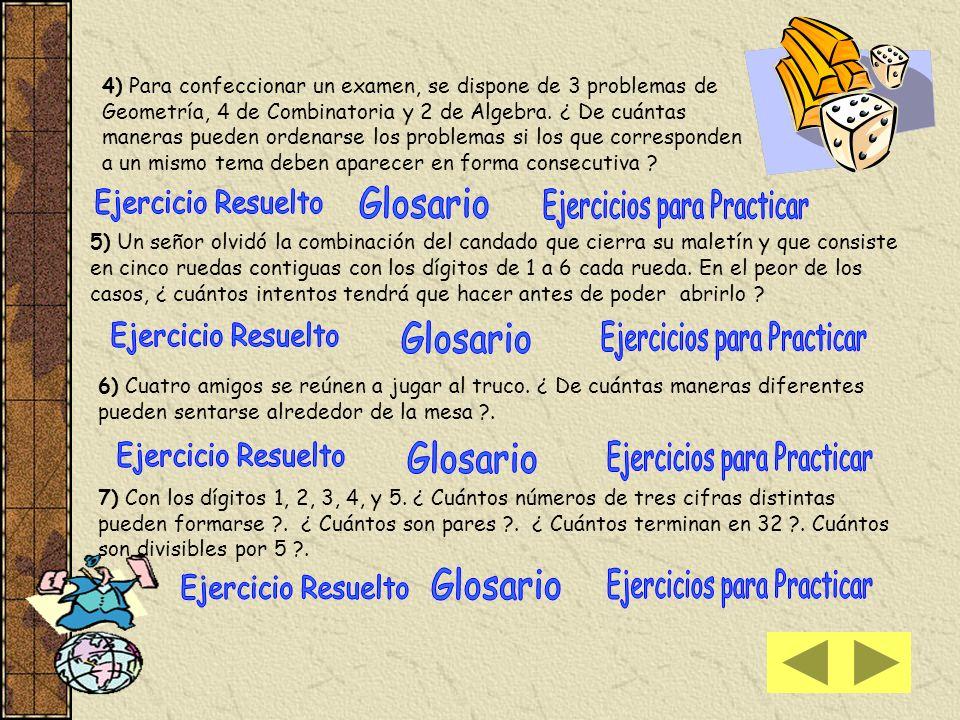 Ejercicios para Practicar
