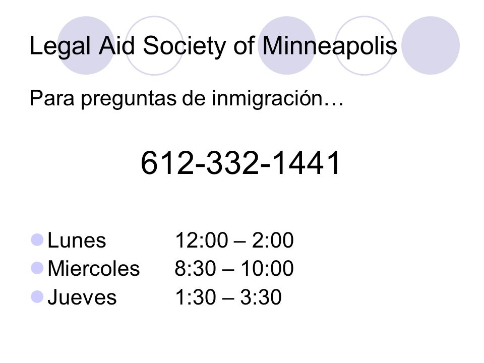 Legal Aid Society of Minneapolis