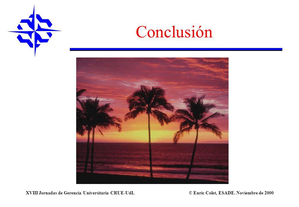 Conclusión XVIII Jornadas de Gerencia Universitaria CRUE-UdL