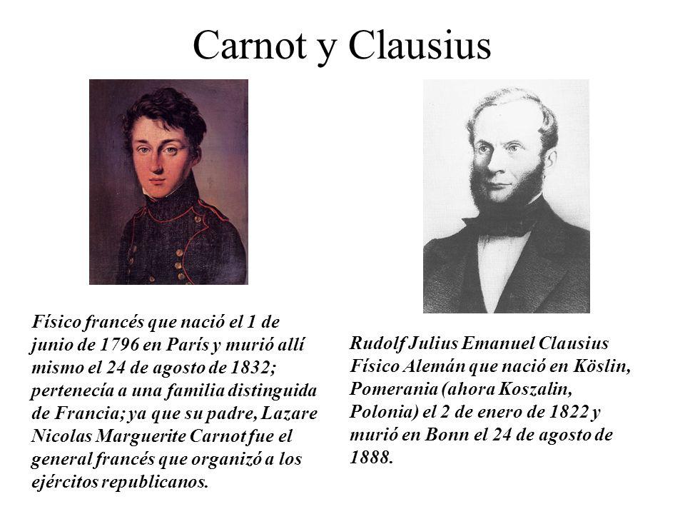 Carnot y Clausius