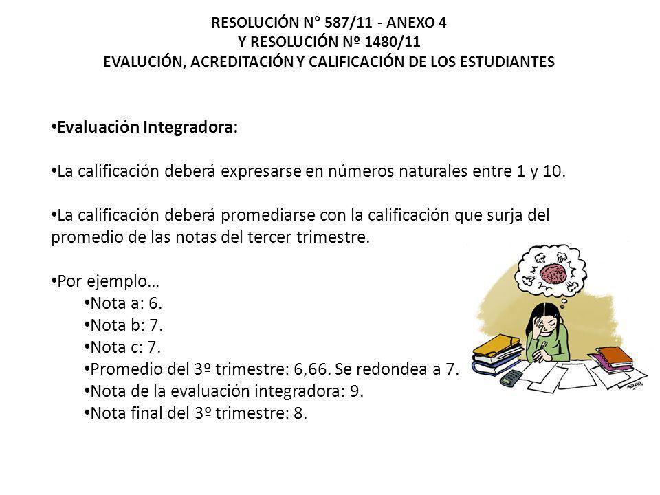 EVALUCIÓN, ACREDITACIÓN Y CALIFICACIÓN DE LOS ESTUDIANTES
