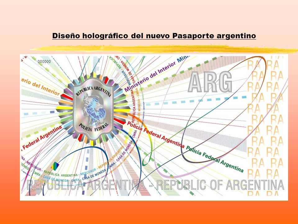 Diseño holográfico del nuevo Pasaporte argentino