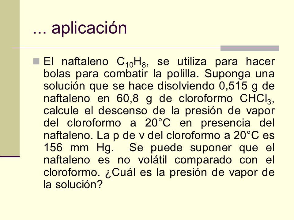 ... aplicación