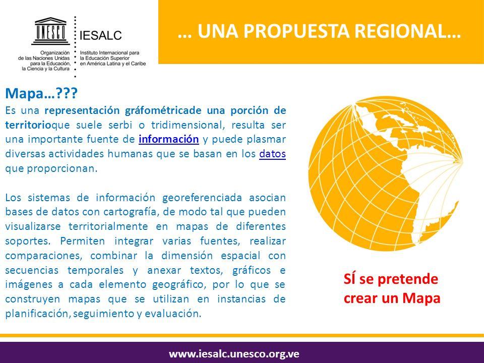 … una propuesta regional…