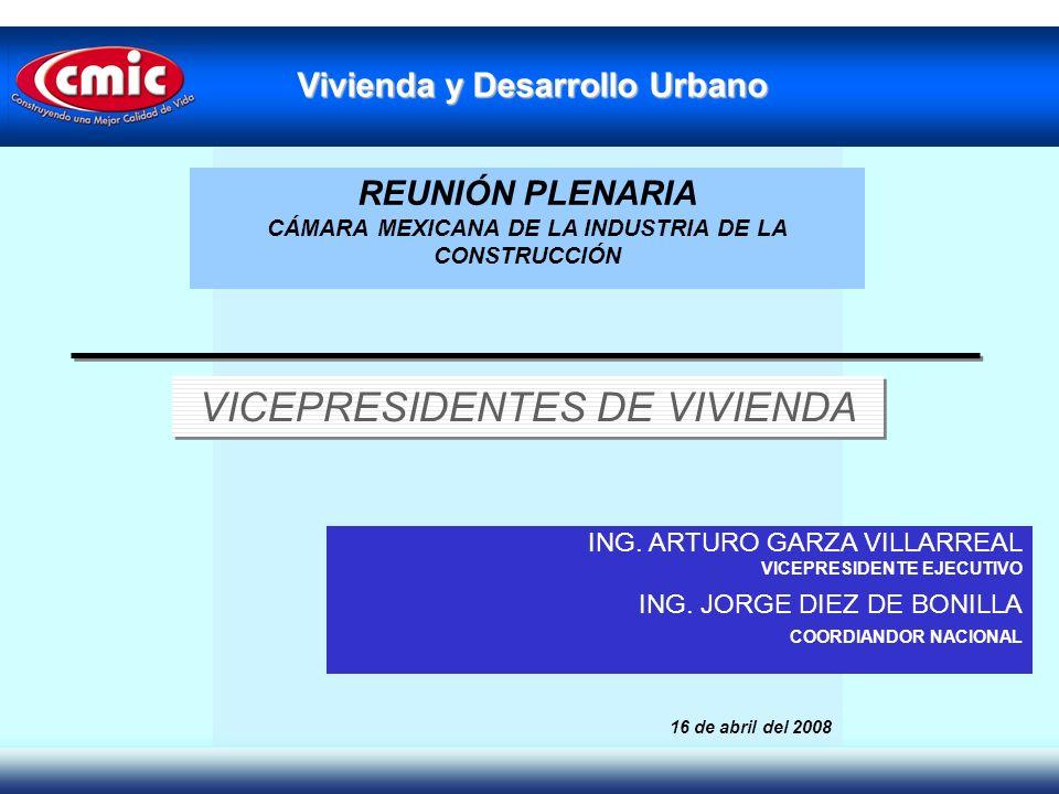 VICEPRESIDENTES DE VIVIENDA