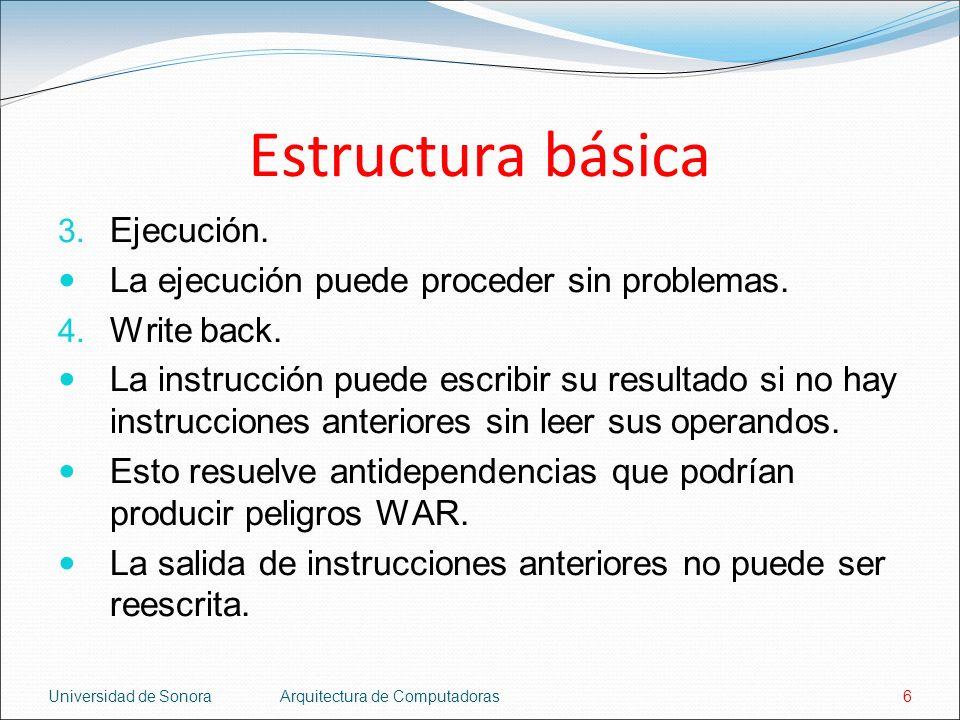 Estructura básica Ejecución.