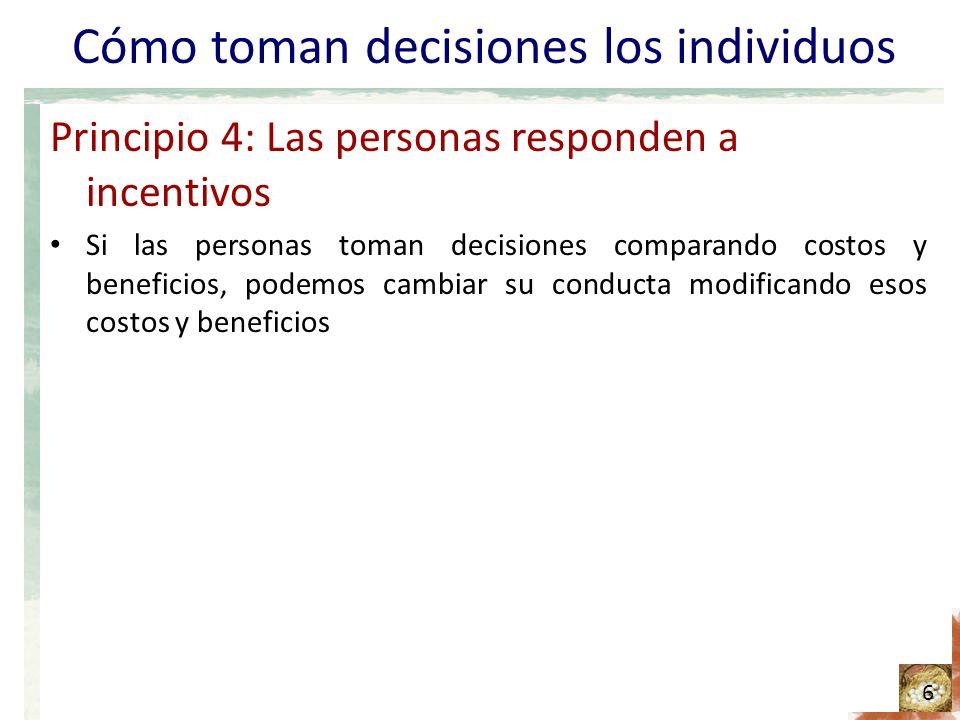 Cómo toman decisiones los individuos