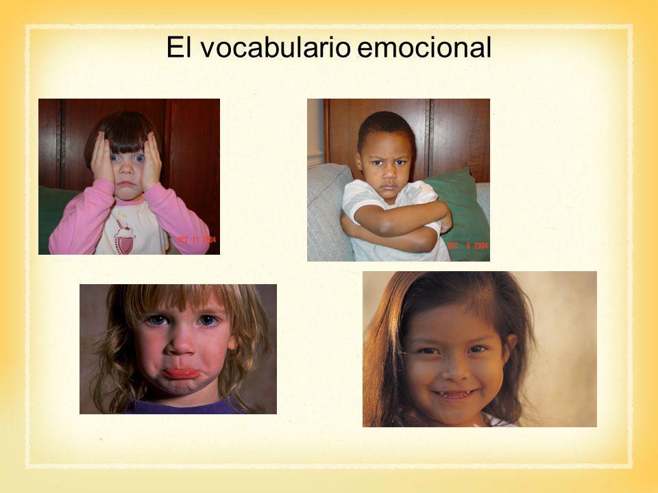 El vocabulario emocional