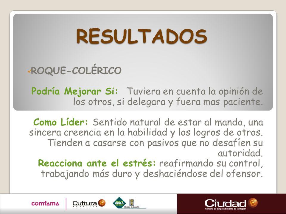 RESULTADOS ROQUE-COLÉRICO