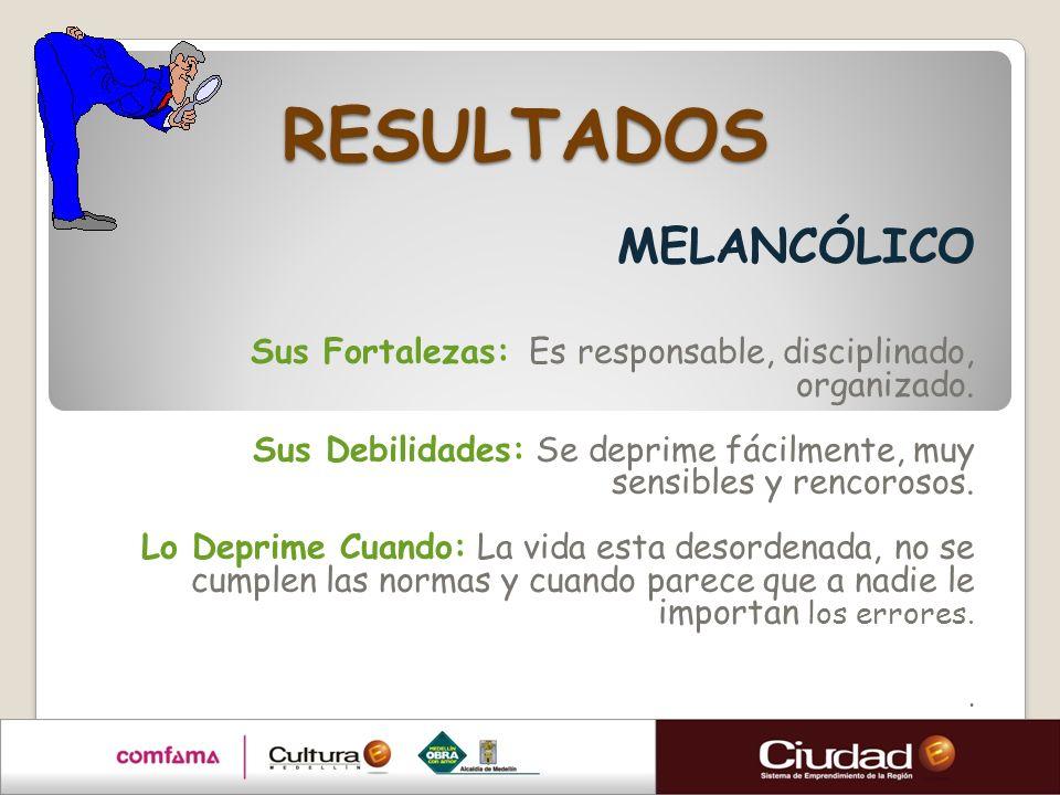 RESULTADOS MELANCÓLICO