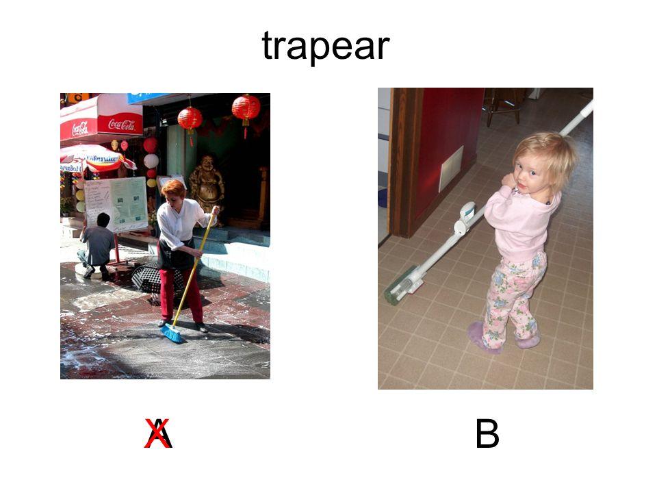 trapear A X B
