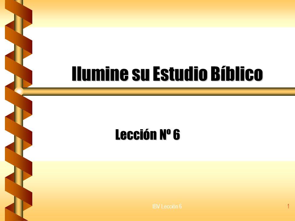 Ilumine su Estudio Bíblico