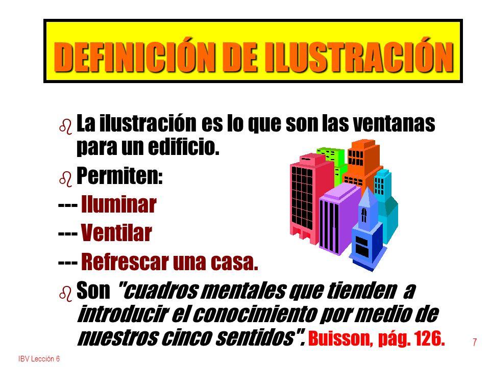 DEFINICIÓN DE ILUSTRACIÓN