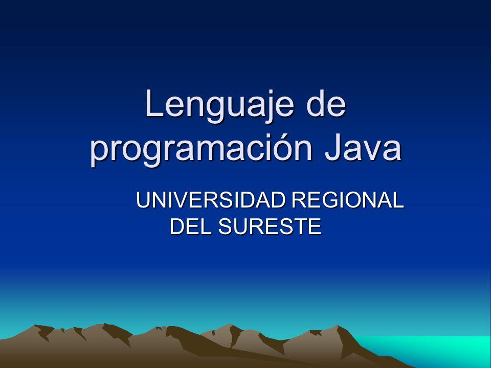 Lenguaje de programación Java