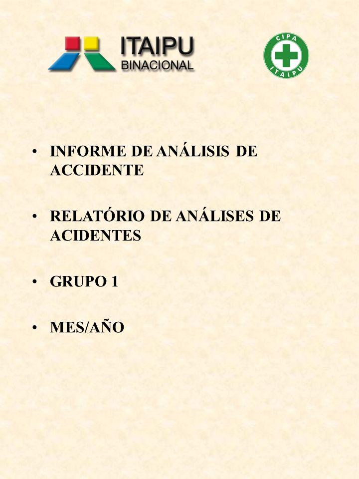 INFORME DE ANÁLISIS DE ACCIDENTE