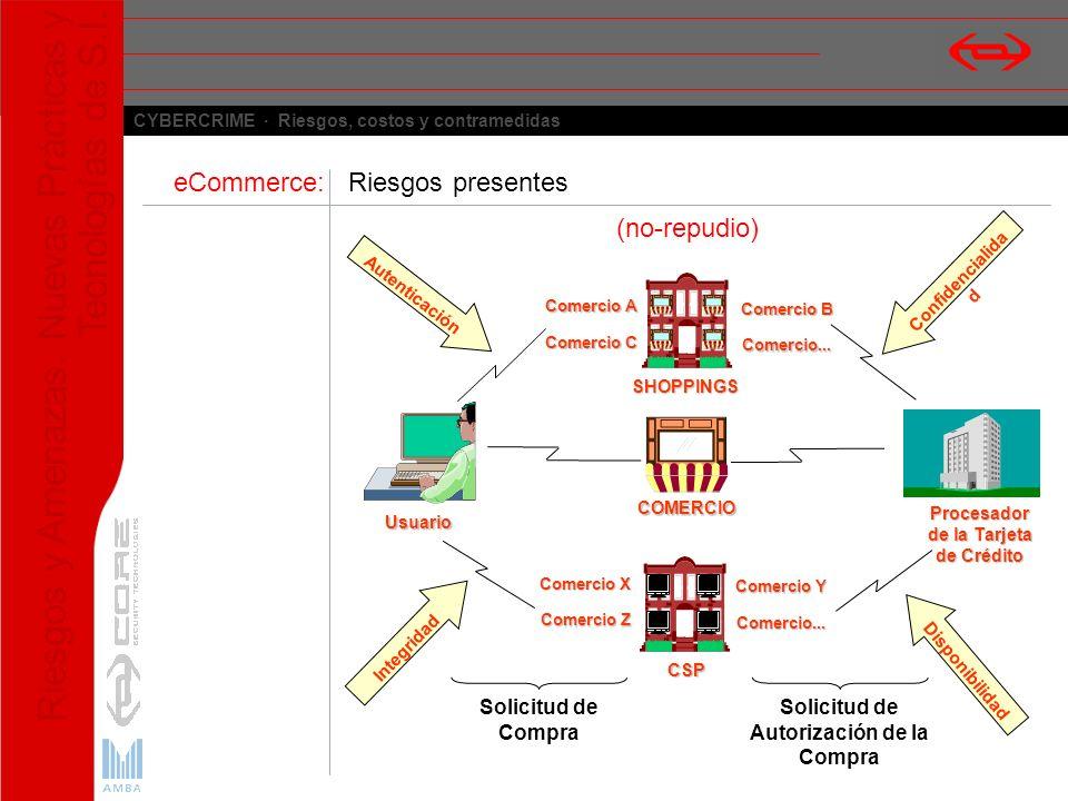 eCommerce: Riesgos presentes