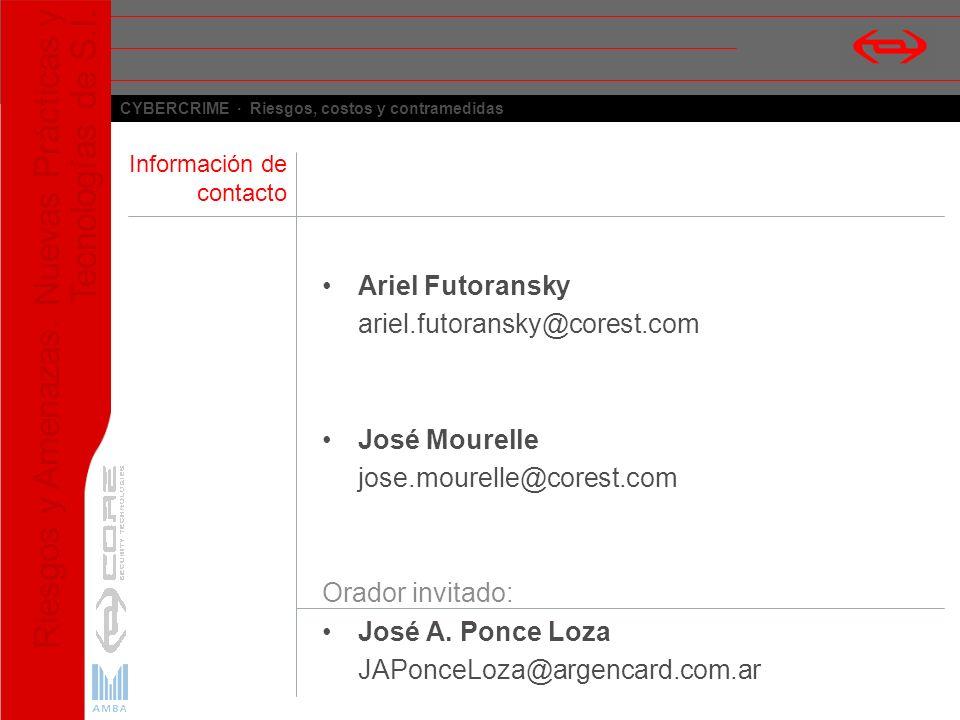 Ariel Futoransky ariel.futoransky@corest.com José Mourelle