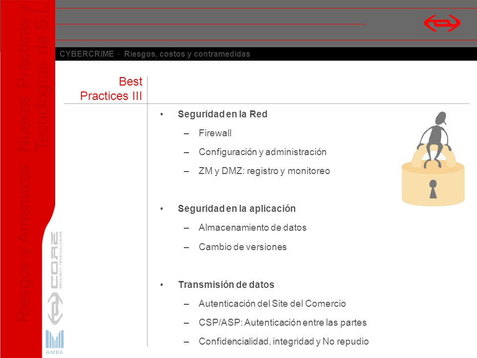 Best Practices III Seguridad en la Red Firewall