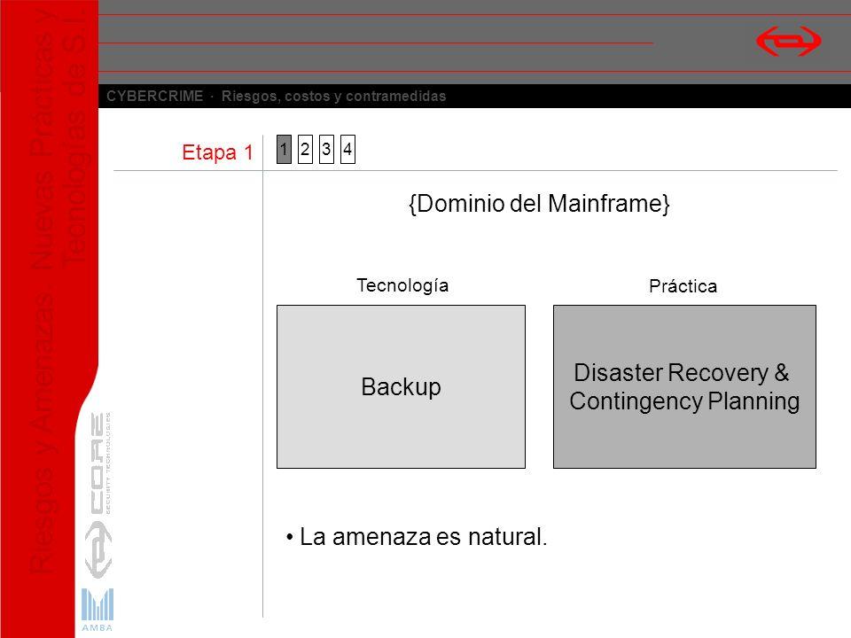 {Dominio del Mainframe}