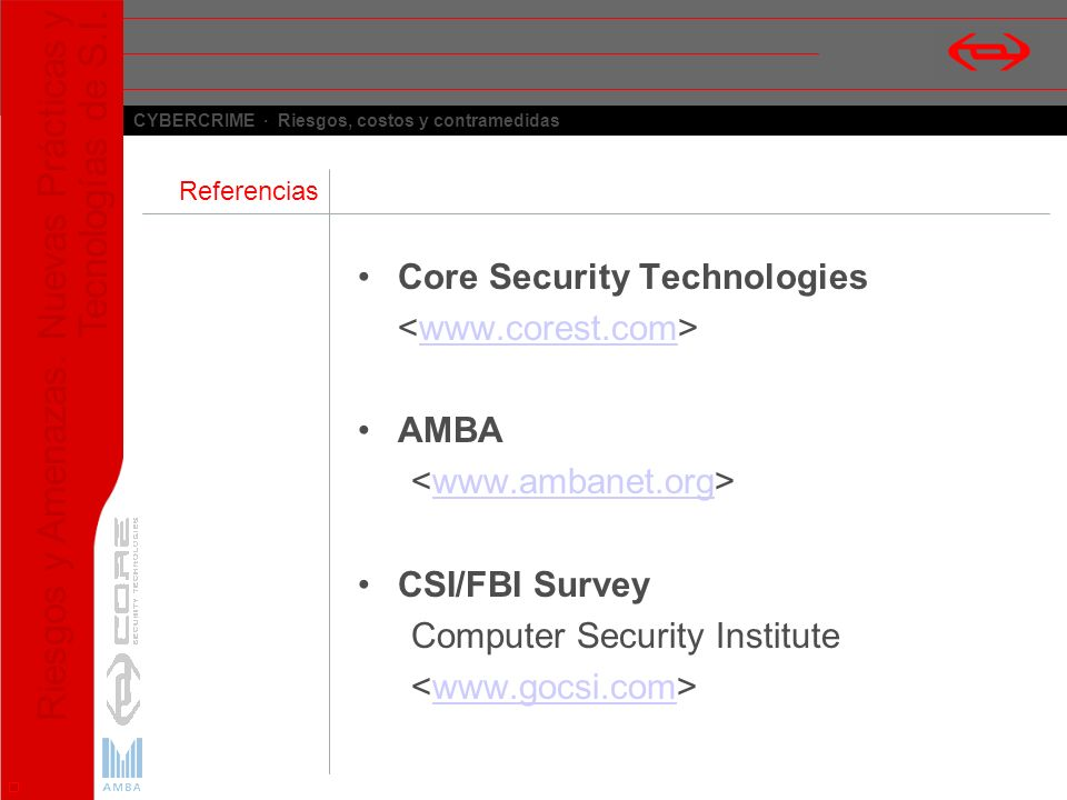 Core Security Technologies <www.corest.com> AMBA