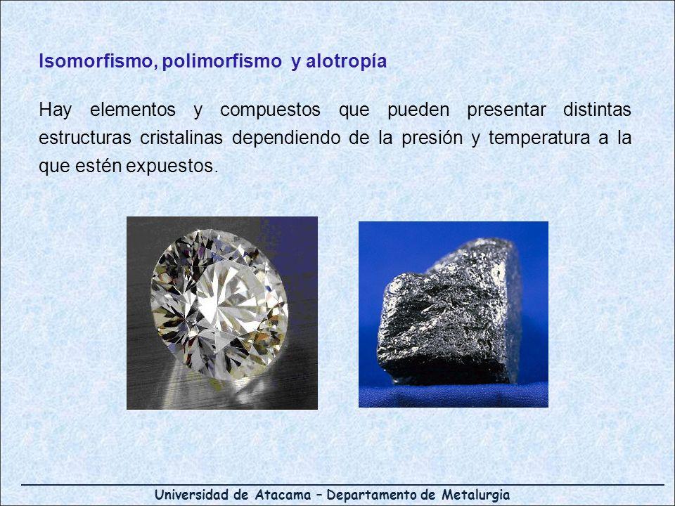 Isomorfismo, polimorfismo y alotropía