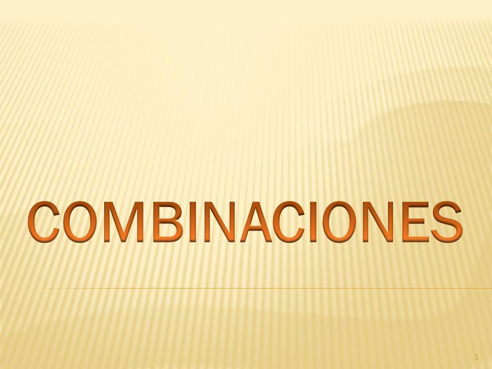 COMBINACIONES