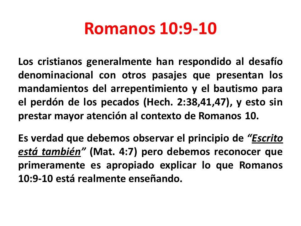 Romanos 10:9-10