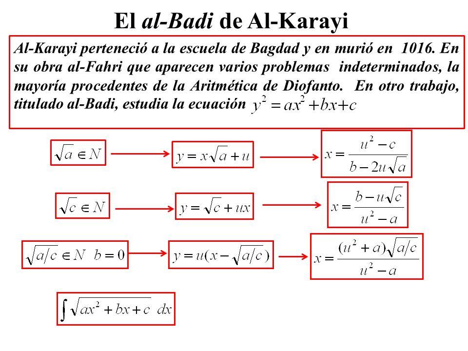 El al-Badi de Al-Karayi