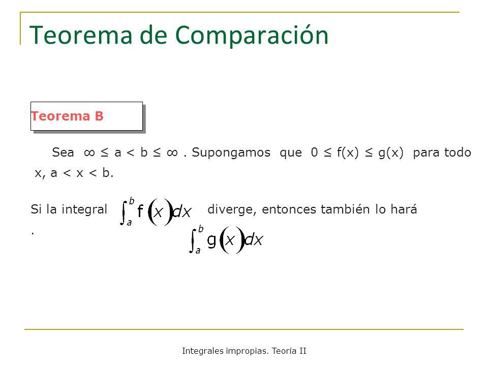 Teorema de Comparación