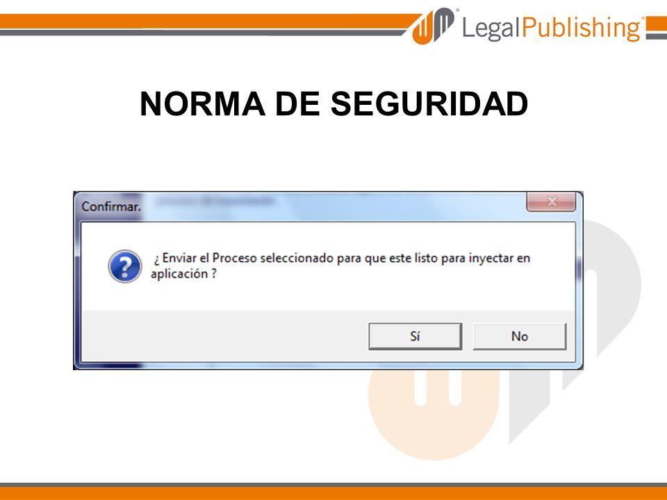 NORMA DE SEGURIDAD
