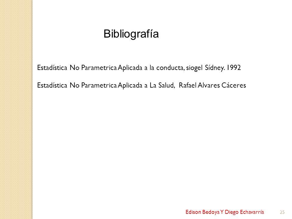 Bibliografía Estadística No Parametrica Aplicada a la conducta, siogel Sídney. 1992.