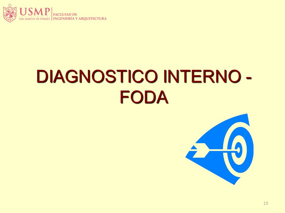 DIAGNOSTICO INTERNO - FODA