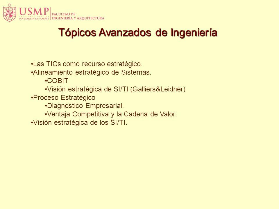 Tópicos Avanzados de Ingeniería