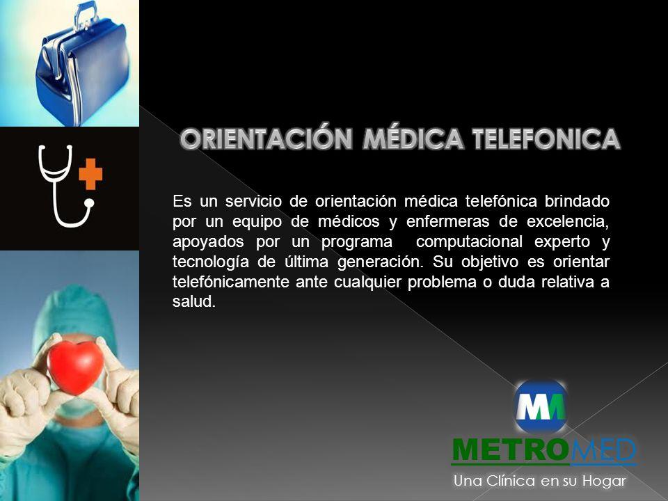 Orientación médica telefonica