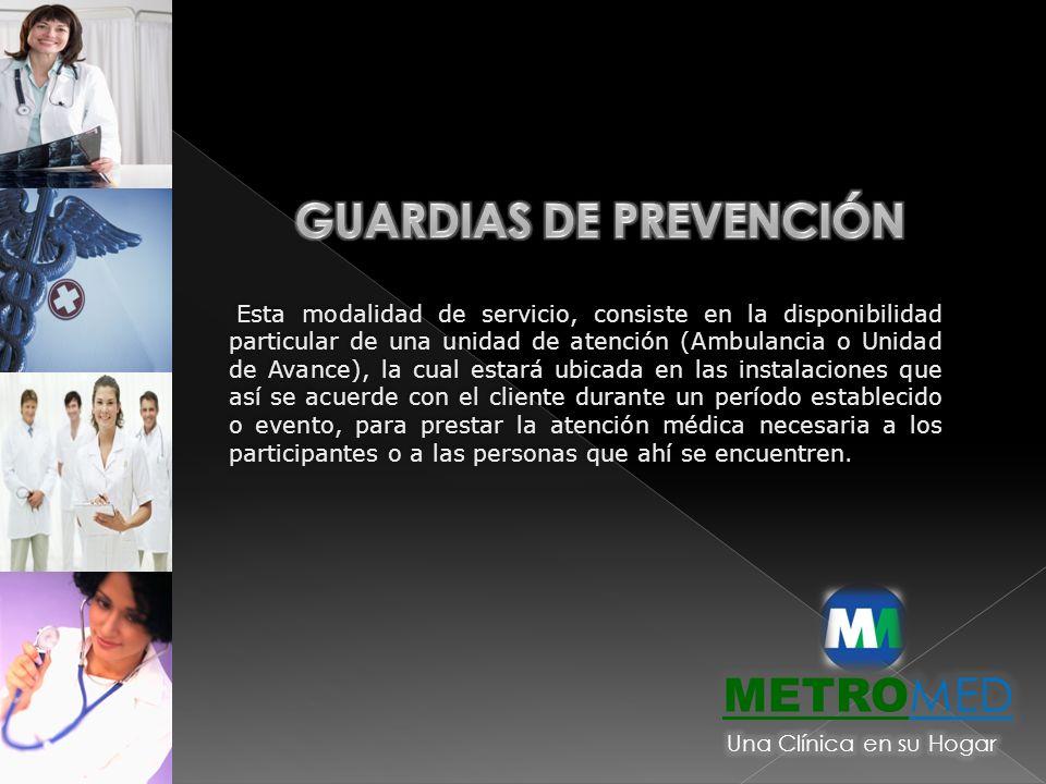 GUARDIAS DE PREVENCIÓN