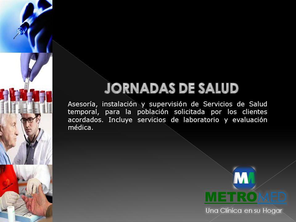 JORNADAS DE SALUD METROMED