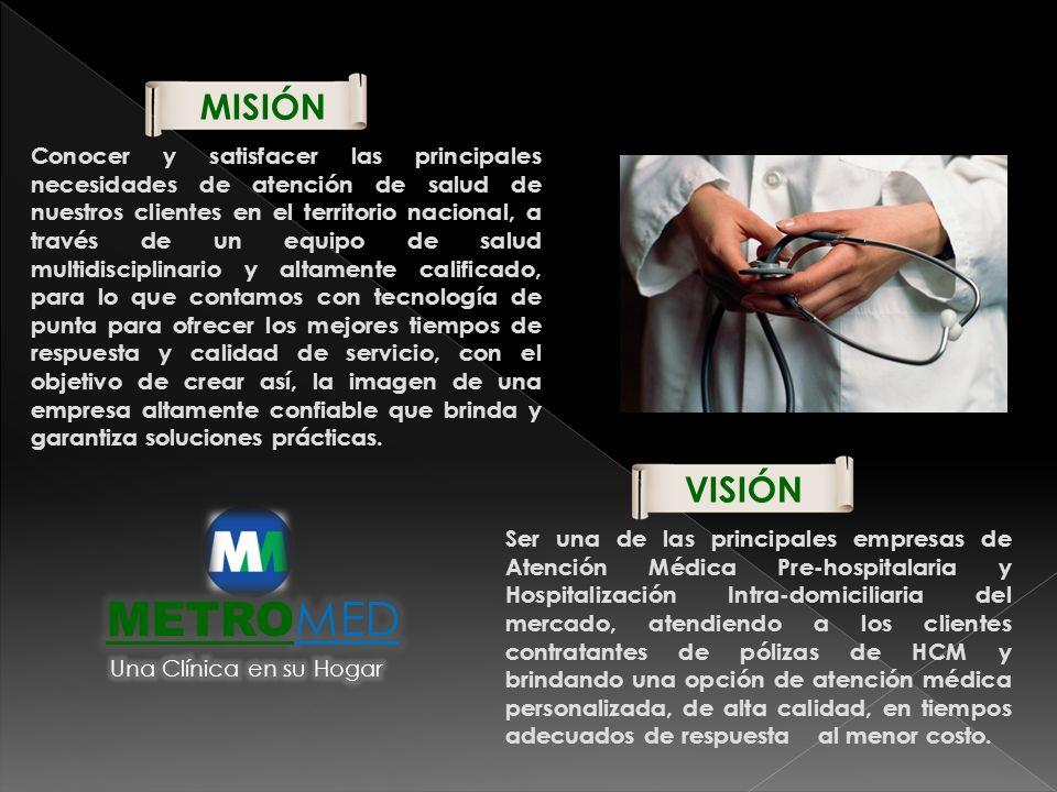 METROMED MISIÓN VISIÓN