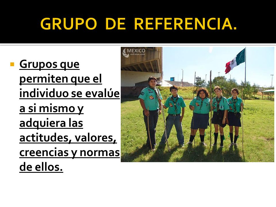 GRUPO DE REFERENCIA.
