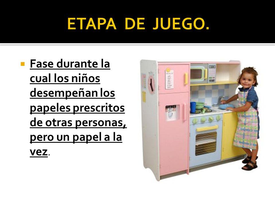ETAPA DE JUEGO.