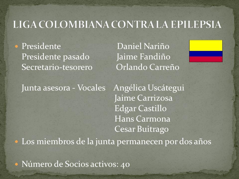 LIGA COLOMBIANA CONTRA LA EPILEPSIA