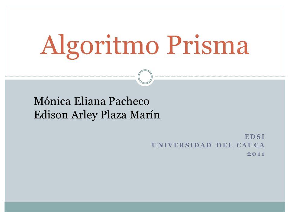 EDSI Universidad del Cauca 2011