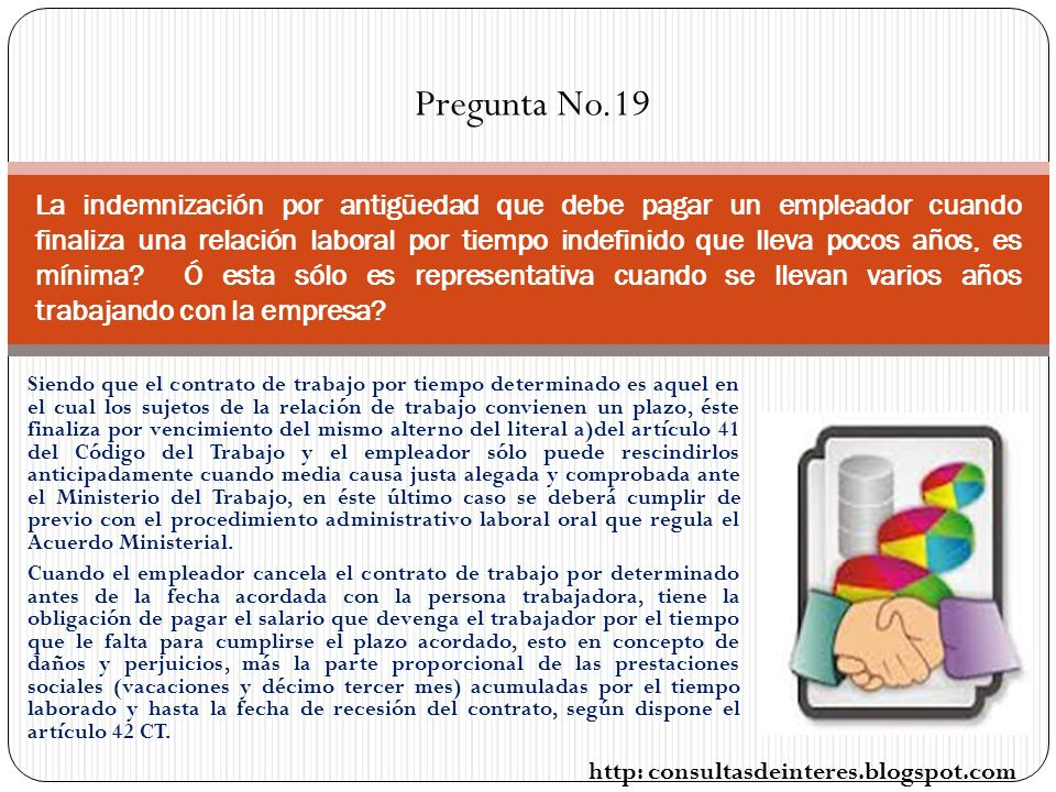Pregunta No.19