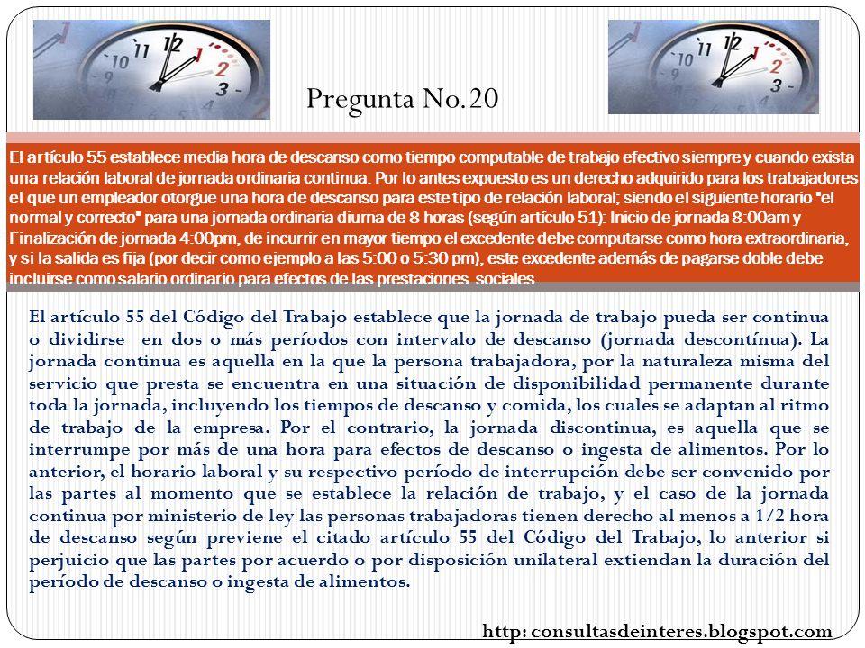 Pregunta No.20 http: consultasdeinteres.blogspot.com