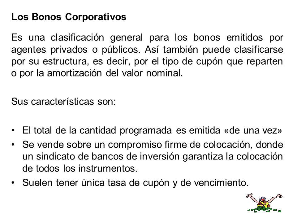 Los Bonos Corporativos
