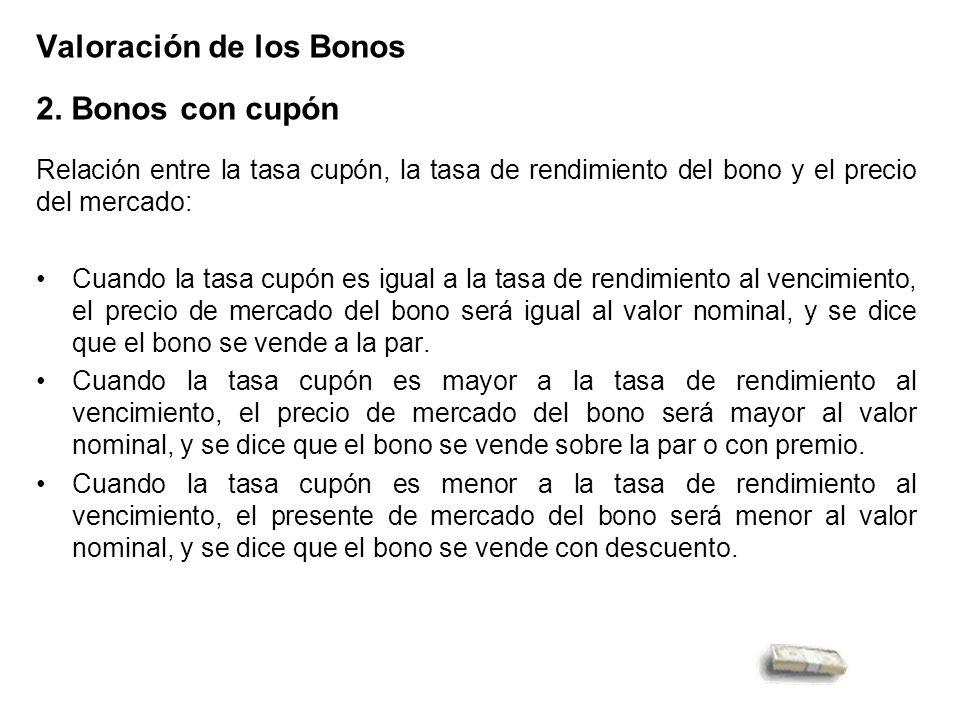 Valoración de los Bonos