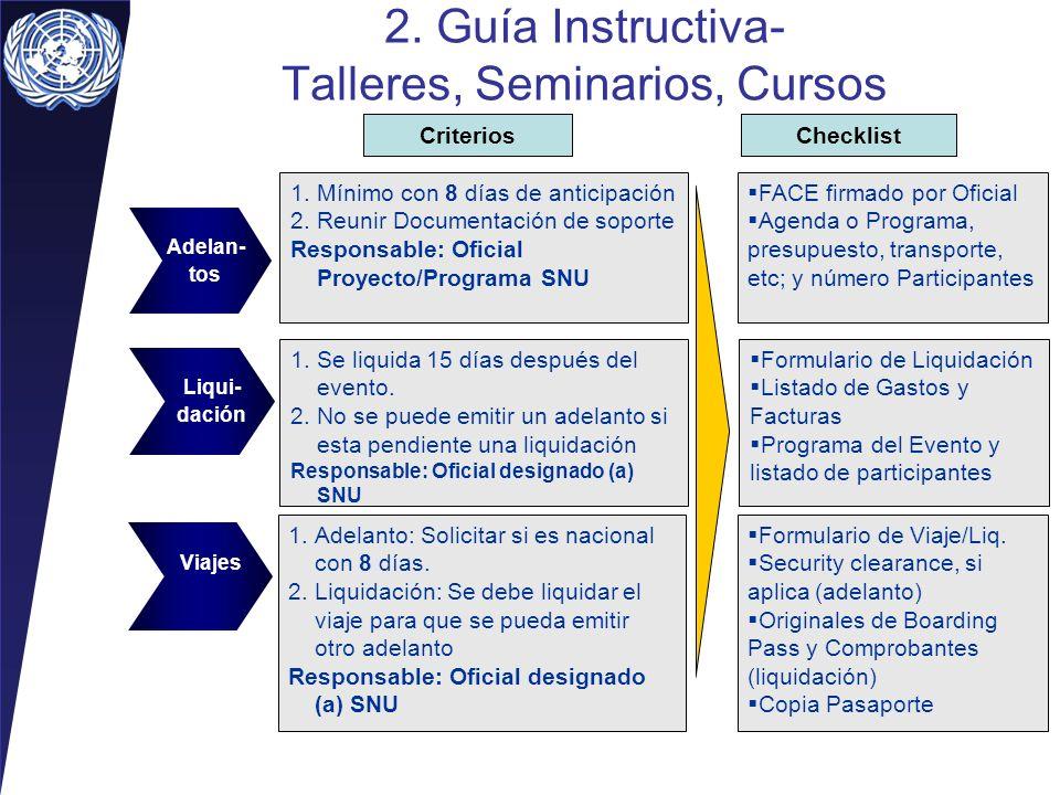 2. Guía Instructiva- Talleres, Seminarios, Cursos